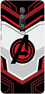Shopezzz Bazaar Avengers End Game Logo 3D Printed Hard Mobile Back Cover Case for Xiaomi Redmi K20 Pro