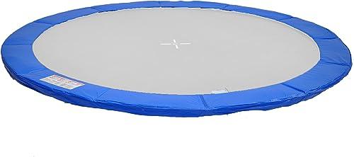 P370B Home Systeme - Coussin de prougeection ressorts trampoline 370cm - Bleu