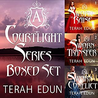 Courtlight Series Boxed Set (Books 1, 2, 3)                   By:                                                                                                                                 Terah Edun                               Narrated by:                                                                                                                                 Ashley Arnold                      Length: 27 hrs and 44 mins     77 ratings     Overall 3.8