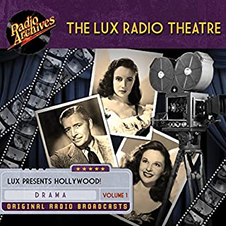 Lux Radio Theatre - Volume 1                   By:                                                                                                                                 George Wells,                                                                                        Sanford Barnett                               Narrated by:                                                                                                                                 full cast                      Length: 9 hrs and 42 mins     3 ratings     Overall 5.0