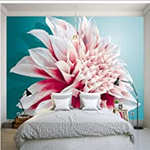 ورق جدران مخصص لصورة الفاوانيا لغرفة النوم تلفزيون ورق حائط ديكور منزلي للجدران 3D MRQXDP