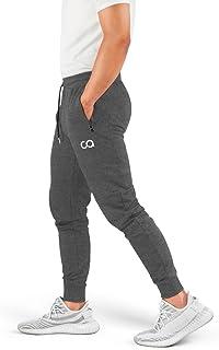 Contour Men's Sweatpants with Pockets Zipper, Cruise Sweatpants for Men, Joggers for Men Slim Fit, Mens Joggers for Workout