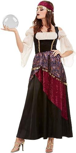 nueva marca Smiffys 50953M - - - Disfraz de Fortune Teller para mujer, Talla M, Color negro  protección post-venta