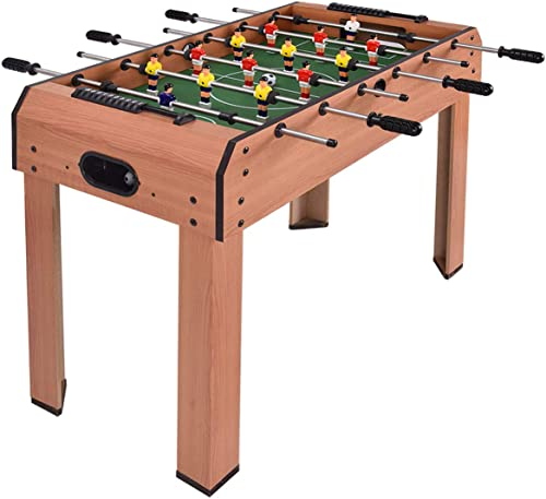 """new arrival Giantex 37"""" Foosball Table, Wooden Competition Soccer Game Table w/ 2 Balls, 2 Cup Holders, outlet online sale Recreational outlet sale Table Football for Arcades, Game Room, Bars, Parties, Family Night online sale"""