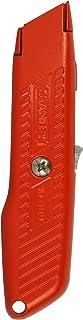Interlock Safety Utility Knife w/Self-Retracting Round Point Blade, Orange (並行輸入品)