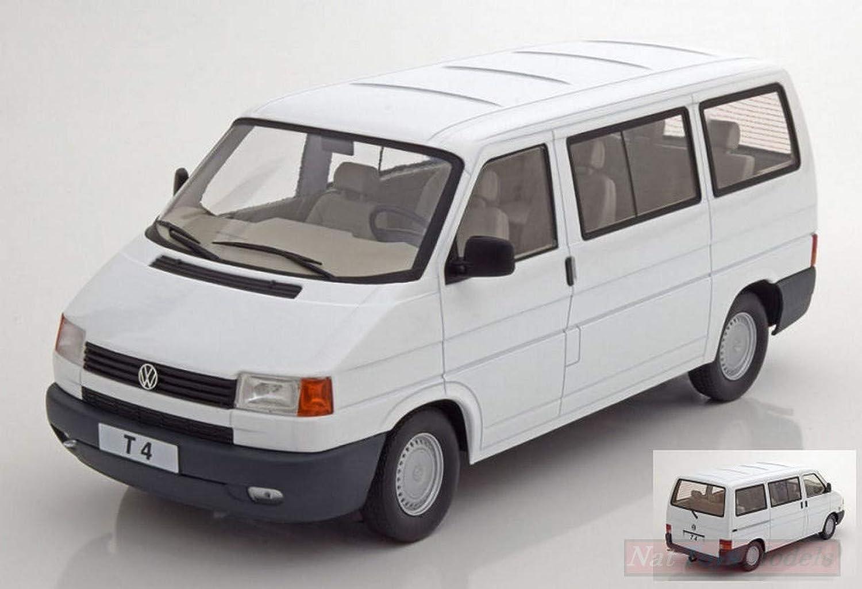 NEW KK Scale KKDC180262 VW T4 CARAVELLE Weiß 1 18 MODELLINO DIE CAST Model