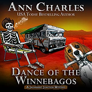 Dance of the Winnebagos audiobook cover art