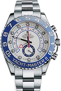 Rolex Yacht master II 44mm White Dial Stainless Steel Mens Watch 116680