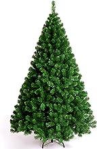 210/240/300Cm Encryption PVC Christmas Tree,with Metal Stand 100 LED Lightsassemble Christmas Tree Decoration Santa Tree, ...