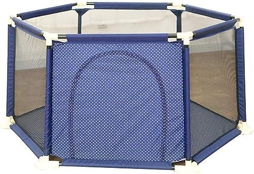 Bbhhyy Parc De Sécurité for Bébé, Porte De Foyer, Barrière De Jeu Intérieure (Couleur   B, Taille   180  180  66.5cm)