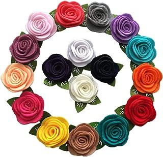 Best wool felt flowers Reviews