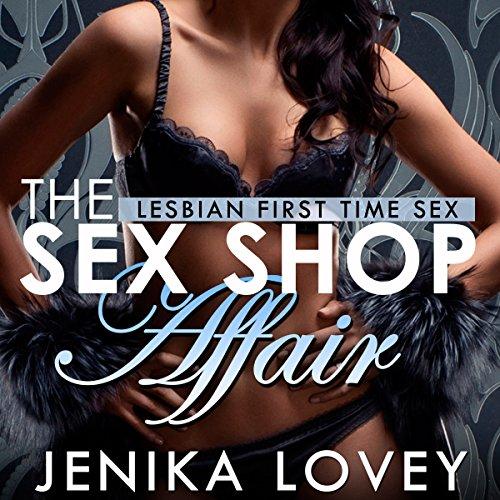 The Sex Shop Affair audiobook cover art