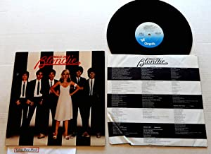 Blondie Parallel Lines - Chrysalis Records 1978 - 1 Used Vinyl LP Record - 1978 Pressing CHR 1192 - Heart Of Glass Long Version - One Way Or Another - 11:59 - Sunday Girl