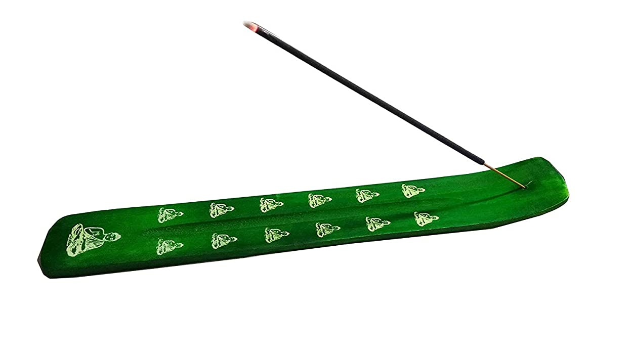 引退する中間優雅なIncense Burner - Traditional Incense Holder colour (Green)