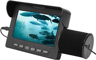 FastUU Cámara de Pesca submarina, cámara portátil con buscador de Peces, cámara infrarroja LED Impermeable, buscador de Pe...