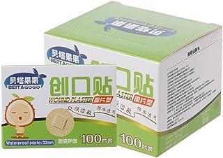 PENG 100 PC Mini Yeso Adhesivo médico Redondo desechable Vendaje para heridas de tirita