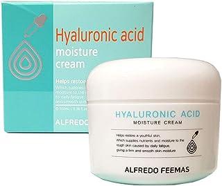 [ALFREDO FEEMAS] ヒアルロン酸モイスチャークリーム100ml / Hyaluronic acid Moisture Cream 100ml / なめらか、うるおい/smooth,moisture/韓国化粧品/Korean Cosmetics [並行輸入品]