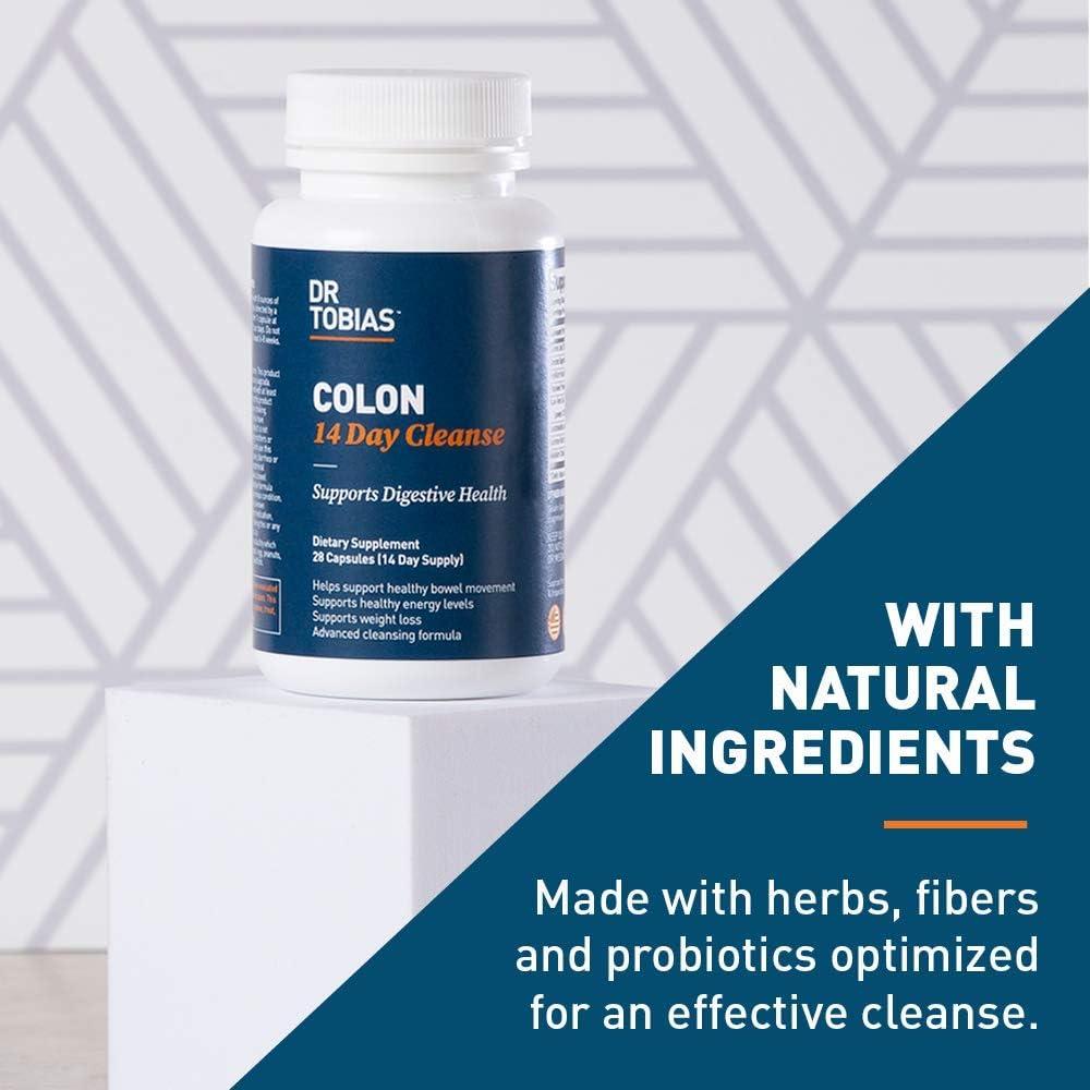 Dr. Tobias, Colon 14 zile de curățare, 28 capsule