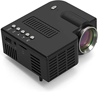 Draagbare projector, Wired Same Screen Full HD Media Player LCD-projector, Theatre Movie Device Digital Projector, voor th...