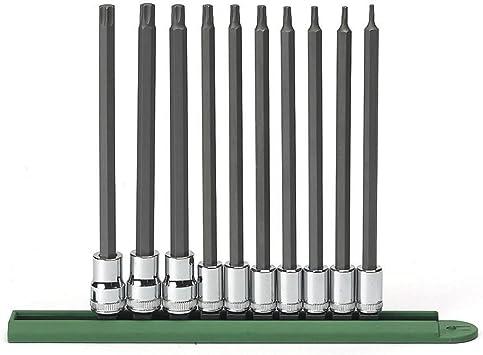 "Bit Torx T20 T 100 with Socket 1//2 /""for Ratchet 100 mm long Torxbit"
