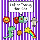 Letter Tracing for Kids: Practice Tracing Letters and Alphabet, Ages 3-5, Preschool, Purple (ABC Learning for Toddlers, Pr...