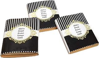 Allah'ın Emriyle Yazılı Kız İsteme Madlen Çikolata ( 100 ad )