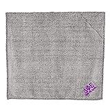 Delta Phi Epsilon DPHIE Sherpa Blanket Frosty Grey w/Lilac Thread Color