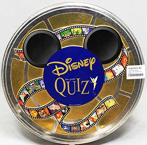 Mattel - Disney Quiz, ab 2 Spielern
