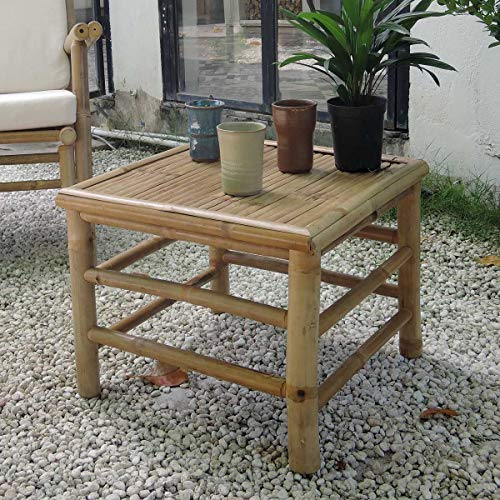 DECOCLICO Table Basse carrée en Bambou