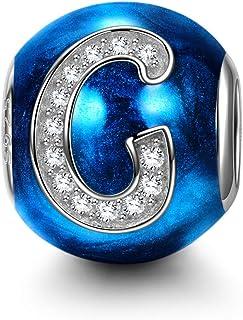 Bijoux de Maman avec Coffret Cadeau NINAQUEEN/® Charm//Heure du th/é Serein//Argent 925 Plaqu/é Or Le Choix pour la f/ête des m/ères Cadeau pour Maman