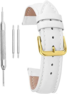 Watch Band Leather Watch Strap Genuine Leather Colorful Replacement Watchband Belt Bracelet