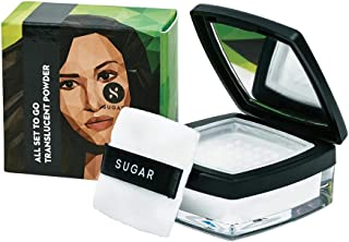 SUGAR Cosmetics All Set To Go Translucent Powder | 8+ Hours of Flawless Perfection