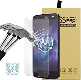 LEMORRY för Motorola Moto Z2 Force skärmskydd premium härdat glas kristall klar LCD-skärmskydd skydd skydd ultratunn tunn ...