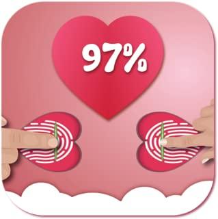 Fingerprint Love Test Calculator Joke