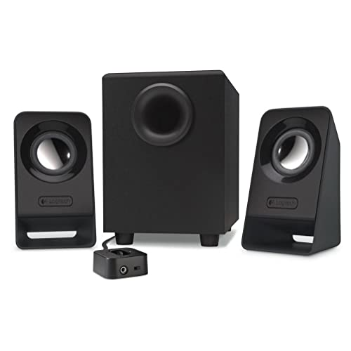 Logitech Z213 - Altavoces Multimedia 2.1, Color Negro