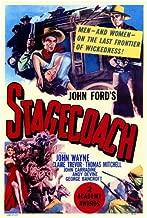 Stagecoach Poster Movie 11x17 John Wayne Claire Trevor Thomas Mitchell George Bancroft