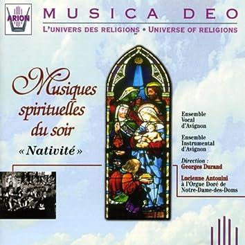 Musiques spirituelles du soir : Nativité