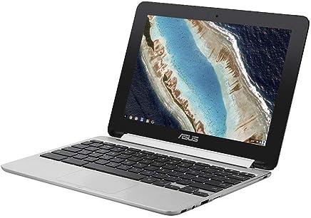 ASUS ノートパソコン Chromebook C101PA (OP1 Hexa-core/4GB・eMMC 16GB/10.1インチ/シルバー) C101PA-ENG/日本正規代理店品