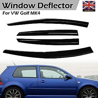 4 pezzi Machswon deflettori antivento per finestrini Vvv GOL-F MK4 1997-2004 5 porte deflettori antivento per auto