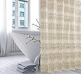 AI XIN SHOP Badezimmer- Badezimmer Duschvorhang Schimmel Wasserdicht Fenster Hängen Vorhang mit Haken (größe : 2 * 2m(w*h))