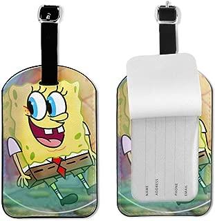 spongebob luggage set