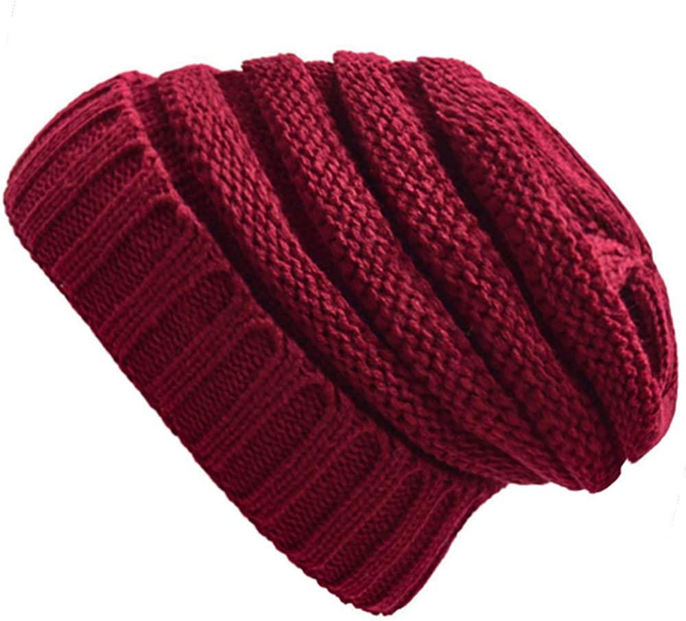 AONTUS Winter Hats Sale special price for Max 86% OFF Womens Slouchy Knit Beanies Skullies Ski