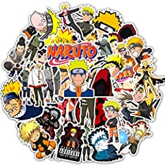 THE NARUTO STICKER PACK: There are 50 different Naruto Stickers in each pack. about 2.5 - 4.0 inches stickers with vinyl material built for durability. THE COOL STICKERS - These aesthetic stickers are designed for decorating your Hydro Flask,laptop, ...