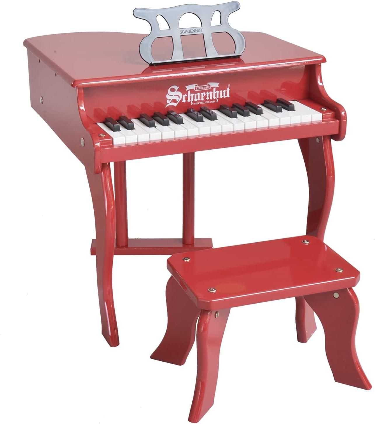 service Schoenhut Baby Grand Piano - 30-Key shop Kids Ben Keyboard with