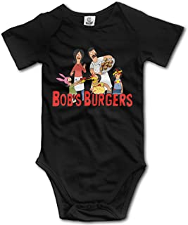 Unisex Baby Bobs Burgers Short Sleeve Playsuit