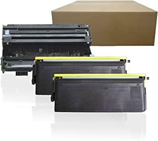 Inktoneram Compatible Toner Cartridges & Drum Replacement for Brother TN460 TN430 DR400 DR-400 TN-460 TN-430 MFC-1260 MFC-1270 MFC-2500 MFC-8300 MFC-8500 MFC-8600 MFC-8700 MFC-9600 (Drum,2-Toner,3PK)