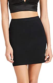 SheIn Women's Stretch Above Knee Mini Short Bodycon Pencil Skirt