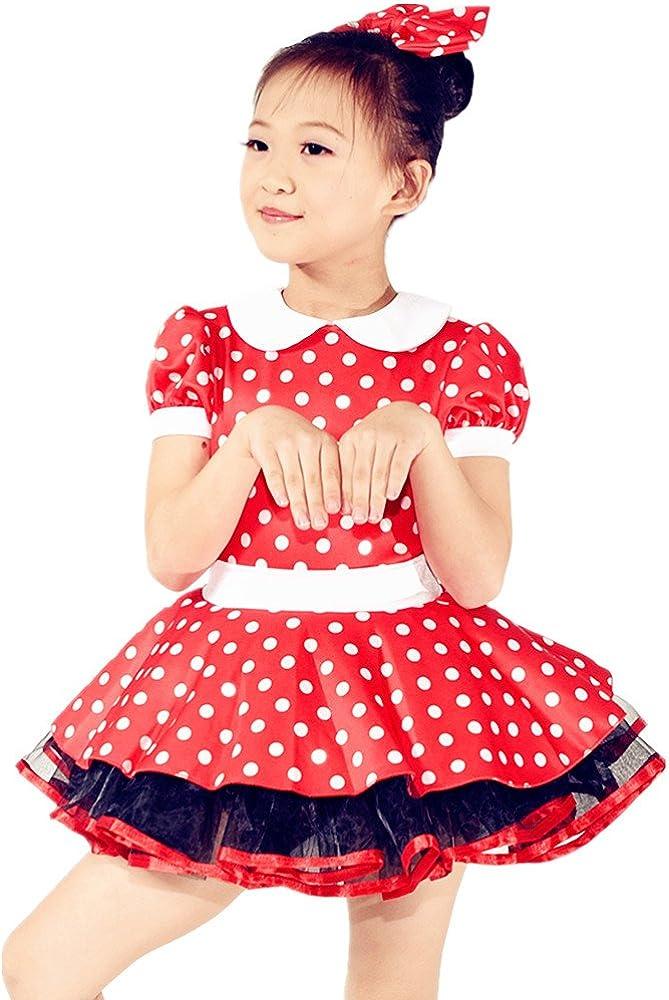 MiDee Ballet Tutu Dance Dress Characte Minnie Max service 80% OFF Costume Polka Dots