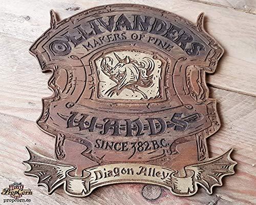 Harry Potter Diagon Ollivanders Holzchild.