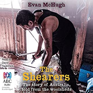 The Shearers audiobook cover art